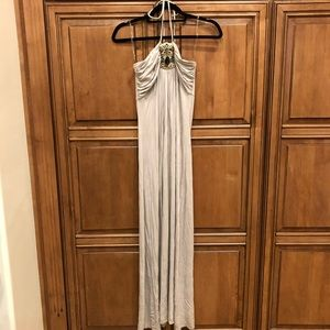 NWOT Love&Love maxi dress with gem stone detail